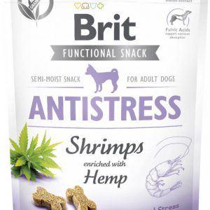 Brit Care Dog Antistress Snack Shrimps - Rejer og hamp