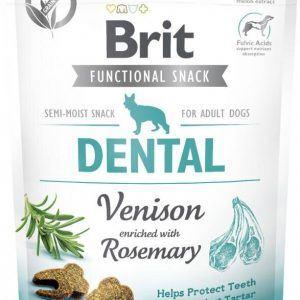 Brit Care Dog Dental Venison Snack - Vildtkød og Rosmarin
