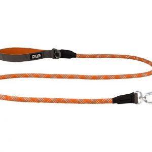 Dog Copenhagen Urban Rope Leash - Orange Sun