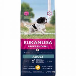Eukanuba Pro Active Adult Medium Breed, 18 kg