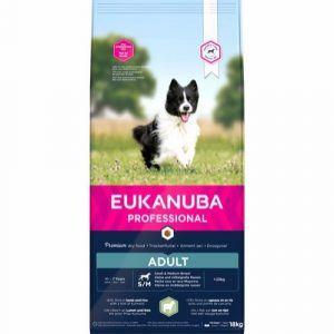 Eukanuba Pro Adult Small/Medium, Lamb & Rice, 18 kg