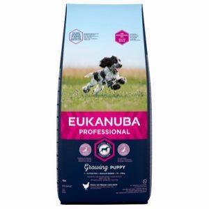 Eukanuba Pro Puppy Medium Breed, 18 kg