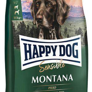 HAPPY DOG Sensible Montana - HEST - Kornfri - Singleprotein, 10 kg