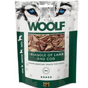 Hundegodbidder fra Woolf, små bløde lam- og torsk godbidder