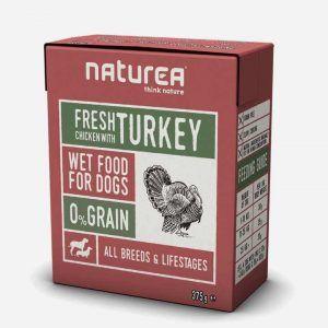 Vådfoder med Kylling og Kalkun, 12x375g