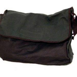 XL taske m/stort rum og udvendig netlomme
