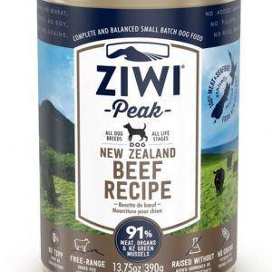 ZiwiPeak Dog Cans Beef, 390 g