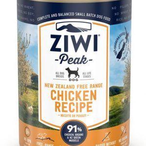 ZiwiPeak Dog Cans Chicken, 390 g