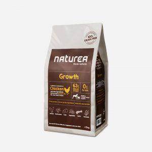 2 kg Naturea Grainfree - Growth/Puppy