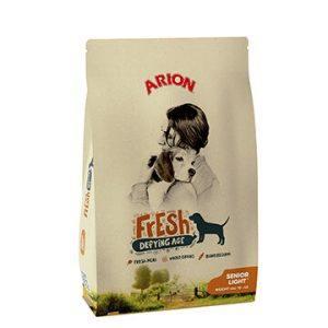 Arion Fresh Senior Light Hundefoder - 12kg