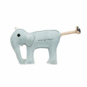 BLUE ELEPHANT // Naturligt hundelegetøj (elefant)