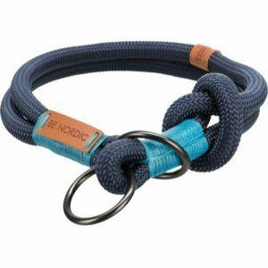 Be Nordic Halsbånd Choke 40cm Mørkeblå
