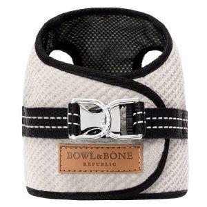 Bowl & Bone hundesele Soho Cream