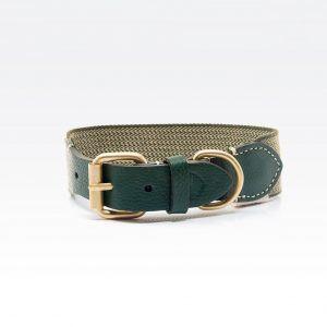 Buddys Dogwear James green dog collar // James Halsbånd (grøn) - Buddys Dogwear James green dog collar // James Halsbånd (grøn)