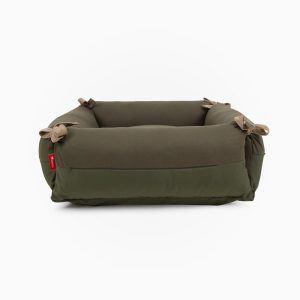 Canuto hundeseng // Hundeseng med fleksible sider, der kan lægges ned (Grøn) - Canuto hundeseng // Hundeseng med fleksible sider, der kan lægges ned