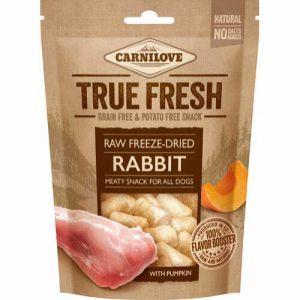 Carnilove Frysetørret snack med kanin og græskar, 40 g