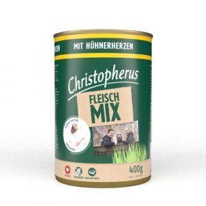 Christopherus Kornfri Dåsefoder Kyllingehjerte 400g