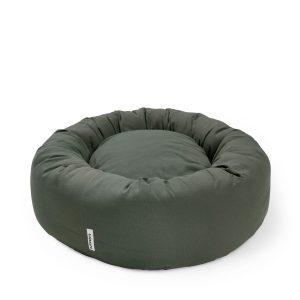 Donut bed Tobine mellow green // Dansk designet rund hundepude (vaskbar) - Donut bed Tobine mellow green // Dansk designet rund hundepude (vaskbar)