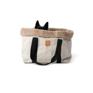 Dorothea Grey // Hundetaske i 'papir' (grå)