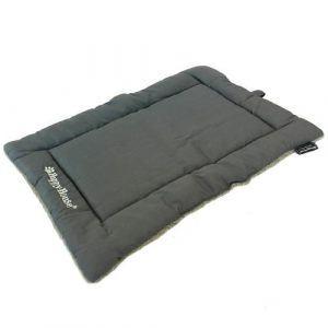 Happy House tæppe grå/blå 61x41cm