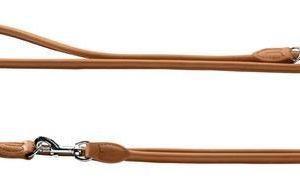 Hunter Elg læder føreline rundsyet cognac 200/0,8cm