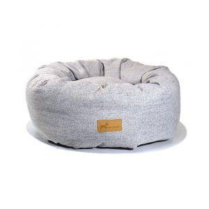 Momofactum O-Dog Bed Grey // Rund hundeseng (tre størrelser) - Momofactum O-Dog Bed Grey // Rund hundeseng (tre størrelser)