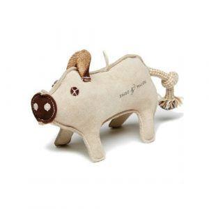 PIG // Naturligt hundelegetøj (gris)