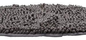 Snavs-absorberende måtte oval 56x37cm Mørkegrå