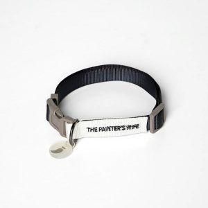 Sonia Navy // Farverigt halsbånd med klikspænde - Sonia Navy // Farverigt halsbånd med klikspænde