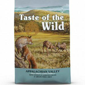 Taste of the Wild Appalachian Valley 5,6 kg - til små racer
