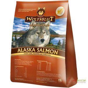 WolfsBlut Alaska Salmon Adult hundefoder, 500g