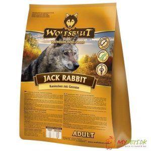 WolfsBlut Jack Rabbit Adult med kanin, 500g