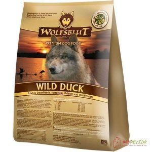 WolfsBlut Wild Duck Adult med and, 500g