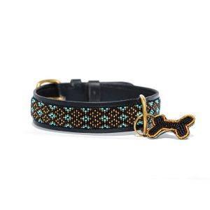 Zinj Faraja // Håndlavet hundehalsbånd med perler - Zinj Faraja // Håndlavet hundehalsbånd med perler