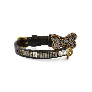 Zinj Kabaka mist mikro // Håndlavet hundehalsbånd med perler (20-27 cm)