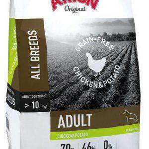 ARION ORIGINAL No Grain Chicken & Potato, 12 kg - incl gratis levering og 2 slags godbidder