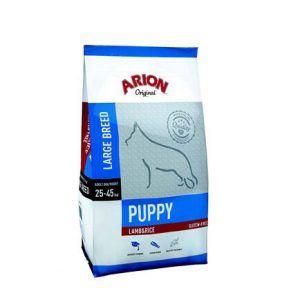 ARION ORIGINAL Puppy Large Lam og Ris, 12 kg - incl gratis levering og 2 slags godbidder