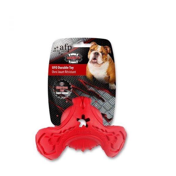"""Afp Ekstra Stærkt Hundelegetøjs """"UFO Durable Toy"""" Mighty Rex - - - -"""
