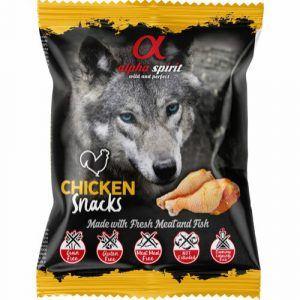 AlphaSpirit Hunde Snack Bløde Godbidder Med Kylling - 50g