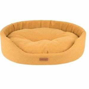 Amiplay Montana Oval Hundeseng - Flere Størrelser - Karrygul