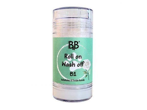 B&B Hundepleje Shampoo Stick B1 - 75ml - Hvide Pelse