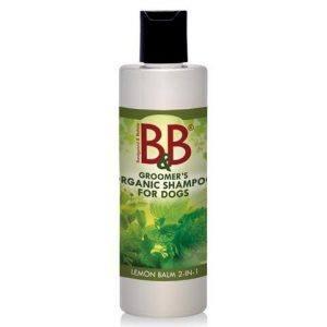 B&B Hundeshampoo - Med 2 i 1 Melisse - 250ml (lemon)