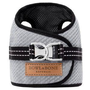 Bowl & Bone hundesele Soho Grå