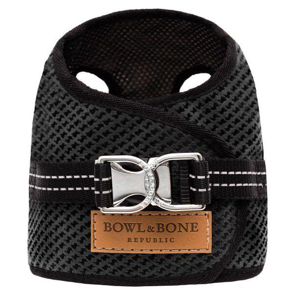 Bowl & Bone hundesele Soho Graphite