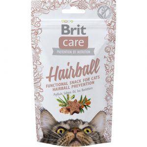 Brit Care Katte Snack Kornfrie Godbidder Anti Hårbold Med Lakseolie Og Havtorn, 50g