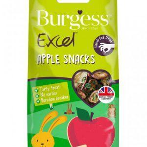 Burgess Kanin & Gnaver Snack Godbidder - Med Æble - 80g
