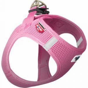 Curli Vest sele Air-mesh Pink - XS Brystmål 32-36cm