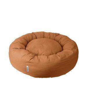 Donut bed Tobine light brown // Dansk designet rund hundepude (vaskbar) - Donut bed Tobine light brown // Dansk designet rund hundepude (vaskbar)