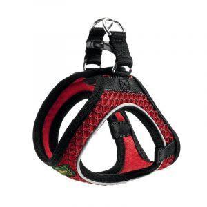 Hunter Hilo Comfort Hundesele - I 3D Mesh - Rød - Flere Størrelser