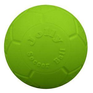 Jolly Punkterfri Fodbold æblegrøn M/L - 20cm